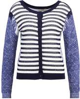 Cream SUSSI Cardigan royal navy blue