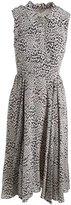 Rebecca Taylor Women's Ombre Leopard Midi Dress