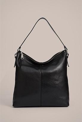 Witchery Leila Pebbled Hobo Bag