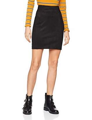 S'Oliver Women's 14.811.78.4120 Skirt, (Black 9999), 18 (Size: )