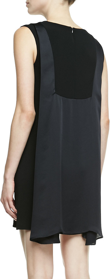 J Brand Ready to Wear Clare Drape-Back Dress