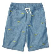 Ralph Lauren Embroidered Cotton Short Medium Blue M