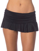Lauren Ralph Lauren Elastic Waist Ruffled Skirt