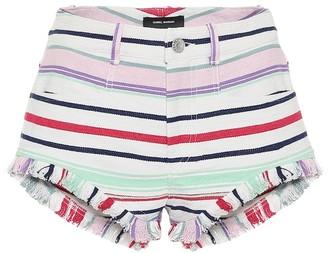 Isabel Marant Campinas cotton-blend shorts