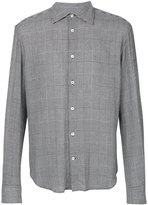 Ermanno Scervino houndstooth print shirt