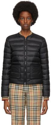 Burberry Black Down Abbeytown Jacket