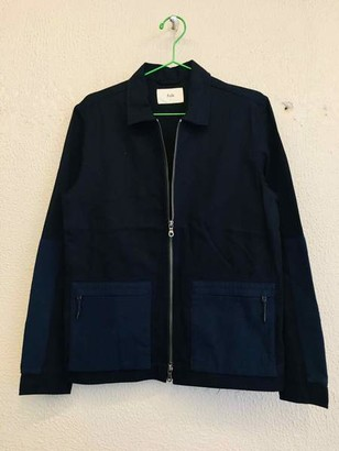Folk Overlay Jacket Navy - 1