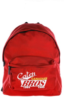 DSQUARED2 Caten Canadian Bros Print Backpack