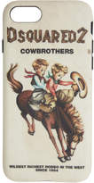 Dsquared2 Multicolor Cowbrothers iPhone 8 Case