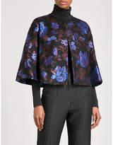 Erdem Skylar floral-jacquard jacket