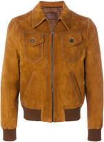 Prada cutaway collar bomber jacket