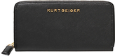 Kurt Geiger Leather Zip Around Purse