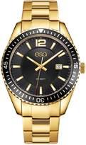 ESQ Swiss Men's Goldtone Stainless Steel Watch with Date Window