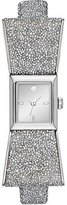 Kate Spade Silver crystal kenmare watch