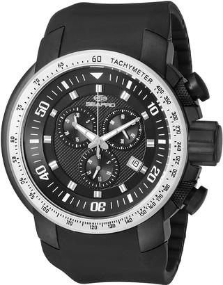Seapro Men's SP7121 Imperial Analog Display Swiss Quartz Black Watch