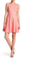 Betsey Johnson Sleeveless Fit & Flare Dress