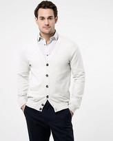 Le Château Cotton Blend Button-Front Cardigan