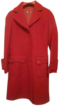 Max & Co. Red Wool Coats