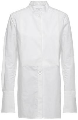 Equipment Beale Paneled Cotton-poplin Shirt
