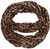 Leopard stripe snood