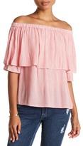 Vero Moda Jane Off-the-Shoulder Stripe Shirt