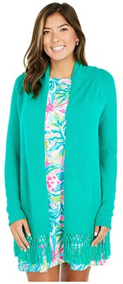 Lilly Pulitzer Tatum Cardigan (Resort White) Women's Sweater
