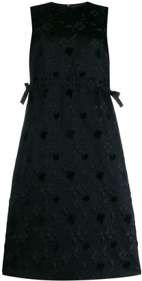 Comme des Garcons Floral Shift Dress