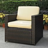 Crosley Palm Harbor Wicker Chair in Brown