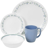 Corelle Country Cottage 16 Piece Set - Green and Blue