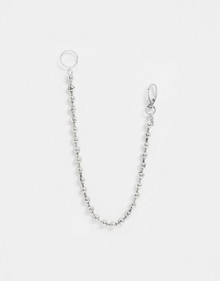 ICON BRAND jean chain in silver