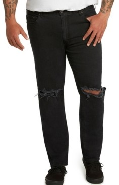 Mvp Collections By Mo Vaughn Productions Mvp Collections Men's Big & Tall Athletic-Fit Slit Knee Stretch Jeans