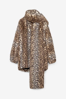 Alexander Wang Cheetah Scarf Jacket