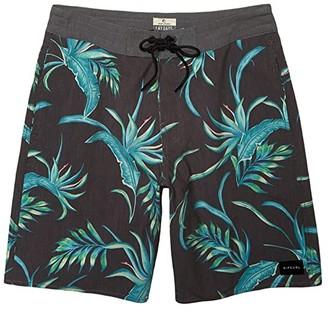 Rip Curl Spacey Layday (Black) Men's Swimwear