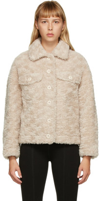 Yves Salomon Meteo Yves Salomon - Meteo Beige Wool Shirt Jacket