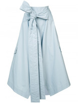 Marni knotted midi skirt