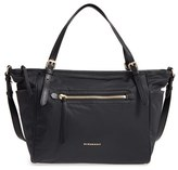 Burberry Infant Nylon Diaper Tote - Black