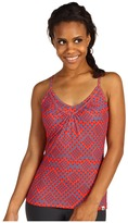 The North Face Women's Dana Print VaporWick Cami (Juicy Red) - Apparel