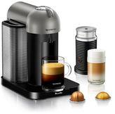 Nespresso by Breville® VertuoLine Coffee and Espresso Maker Bundle in Titanium