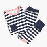J.Crew Kids' pajama set in mixed stripes