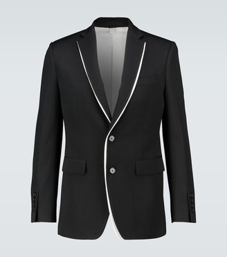 Burberry English Fit double-front blazer