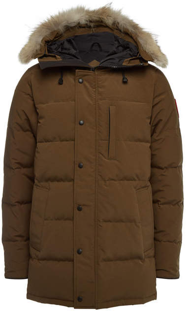 Canada Goose Carson Down Parka with Fur-Trimmed Hood