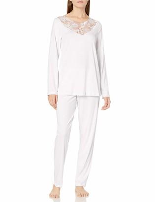 Hanro Women's Flora Long Sleeve Pajama Set