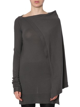 Rick Owens Hooded Sweater