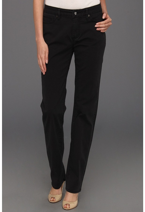 Christopher Blue Madison Juku High Rise Straight Island Twill (Black) - Apparel