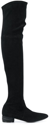 Casadei Trio over the knee boots