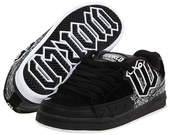 World Industries Vandal (Black/White) - Footwear