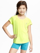 Old Navy Go-Dry Performance Crew-Neck Tee for Girls