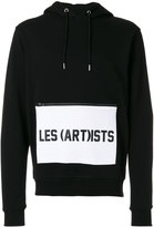 Les (Art)ists logo pocket hoodie - men - Cotton - M