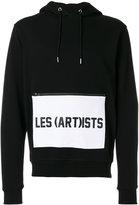 Les (Art)ists logo pocket hoodie