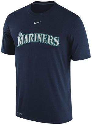 Nike Men's Navy Seattle Mariners Legend Primary Logo Performance T-Shirt